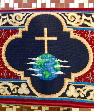 Trinity Cathedral Kneeling Cushion.