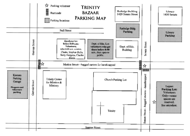 Trinity Bazaar Map 3 - Parking
