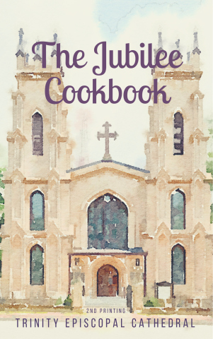 Trinity Jubilee Cookbook - 2nd Printing.